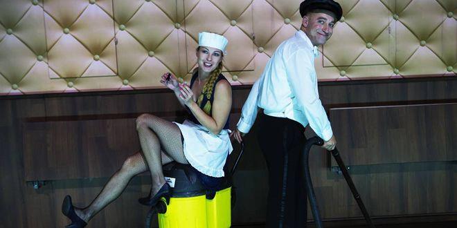 Daniela in Rechnitz (Der Würgeengel). Foto: Rolf Arnold