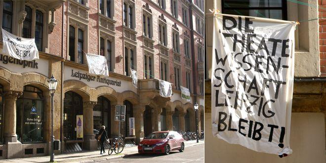 Theaterwissenschaft in Leipzig.