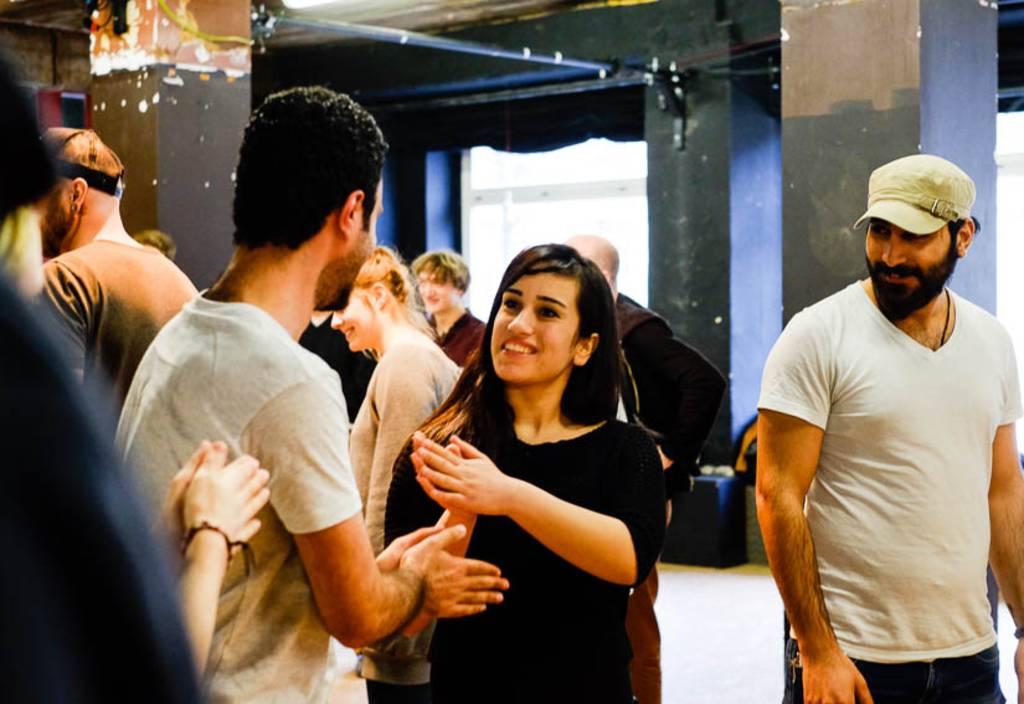 So geht kennenlernen beim ConActionCafé © Tamara Stoll