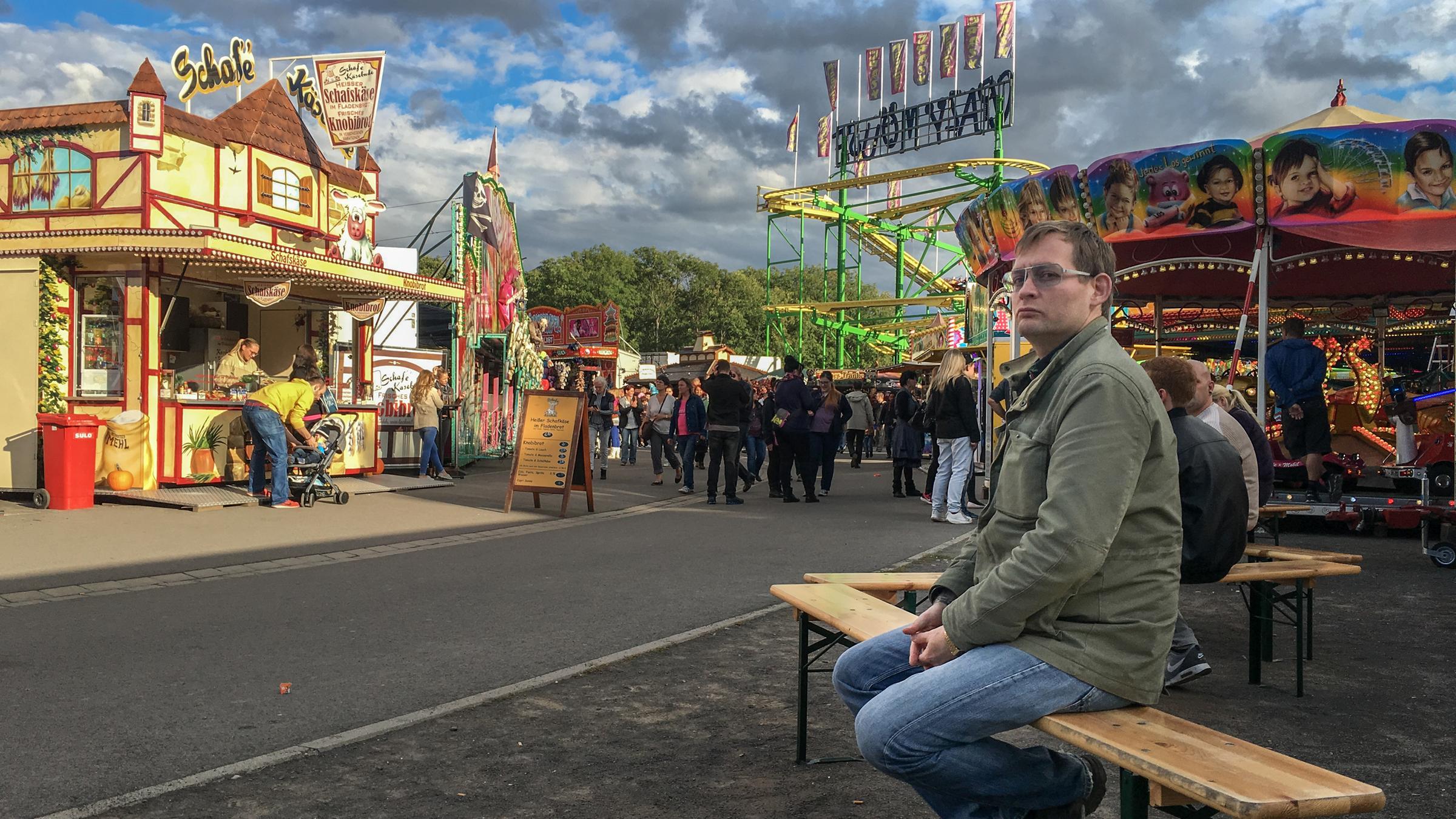 Auf die Kleinmesse mit Clemens Meyer © ZDF