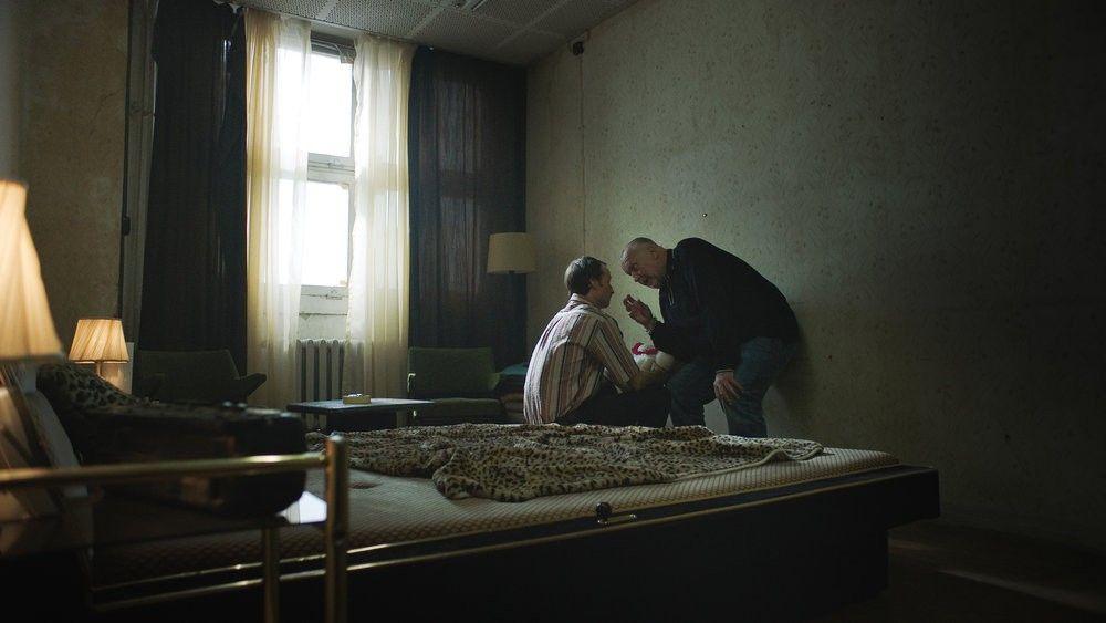 Müsst ihr uns jetzt glauben: Maximilian Brauer und Thomas Thieme in <em>Tempel</em> © ZDF