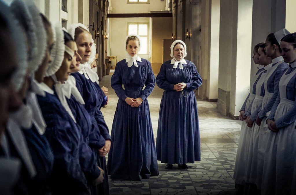 Schwester Klara in der Charité © ARD/Nik Konietzny