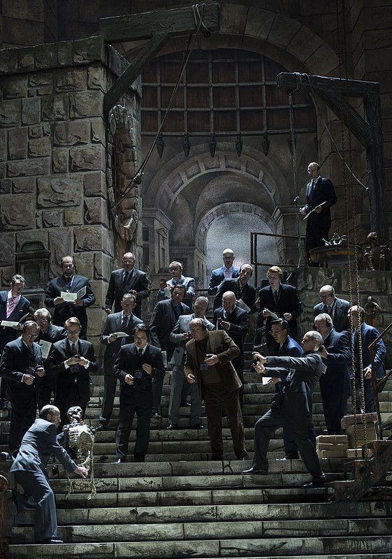 Fidelio an der Oper Halle © Falk Wenzel