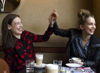 Valerie Göhring und Sina Martens © Linda Rosa Saal