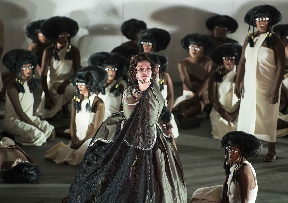 Aida an der Oper Halle. Foto: Falk Wenzel