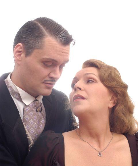 Meigl Hoffmann und Barbara Trommer im Sommertheater © privat