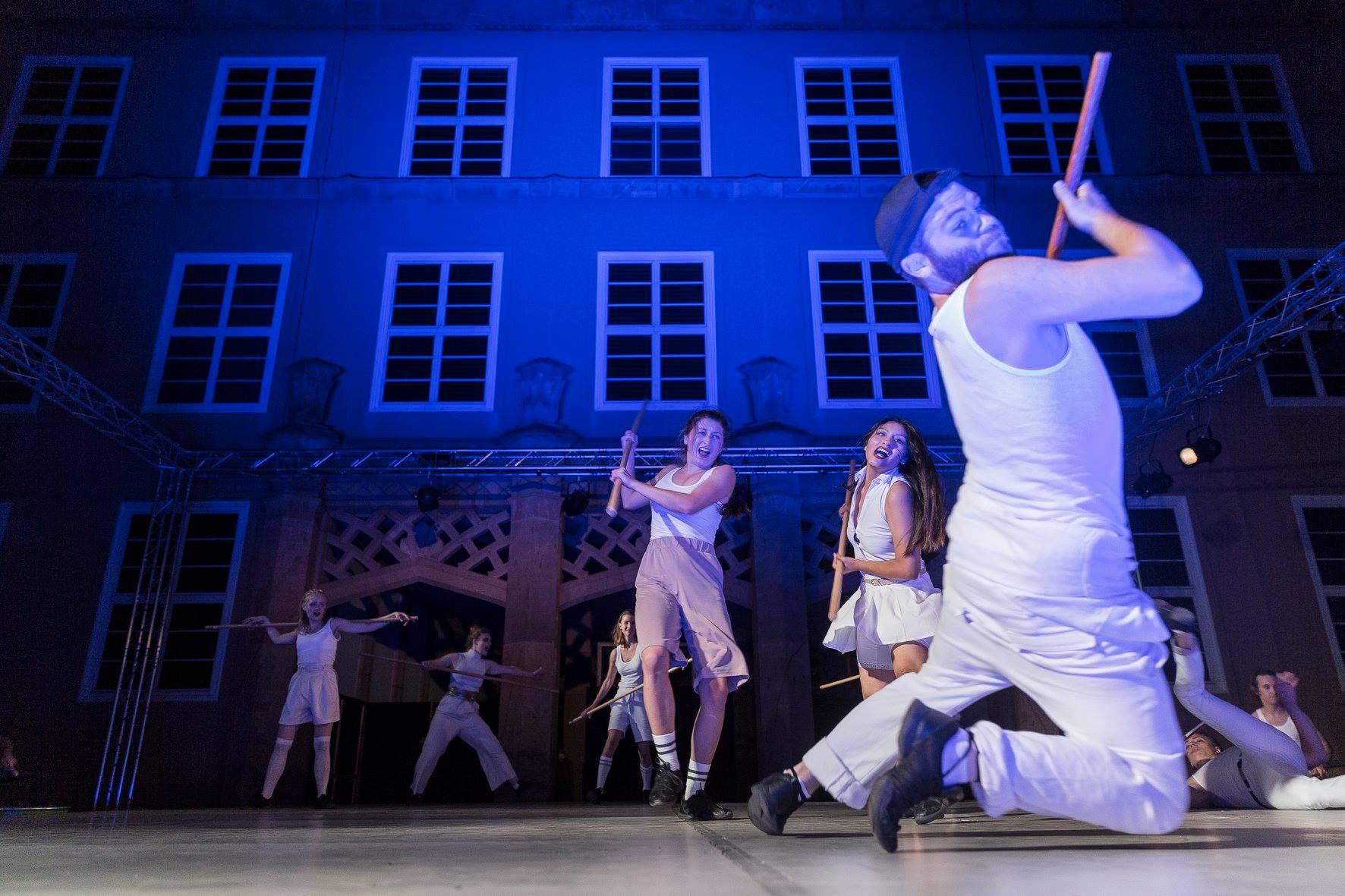 Die Nibelungen. Sommertheater der Schauspielstudenten © HMT Leipzig