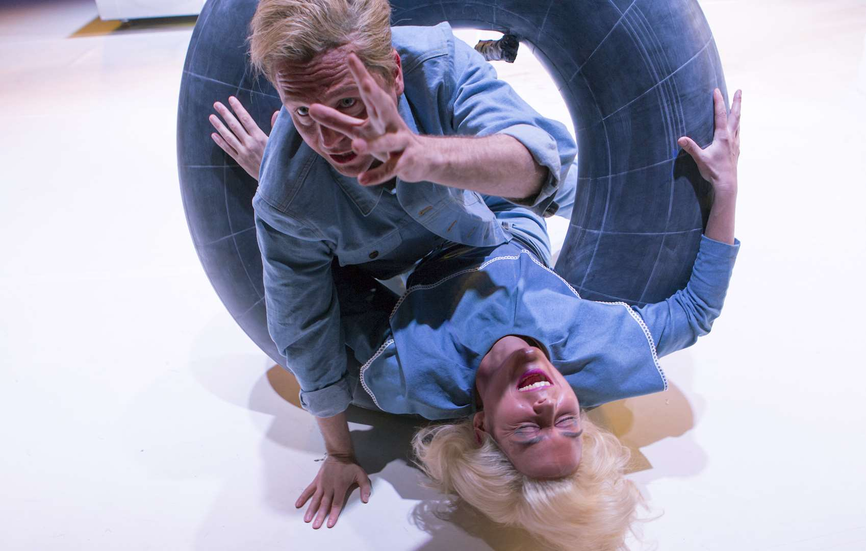 Dorothea Arnold und Thomas Braungardt in paradies fluteb © Rolf Arnold