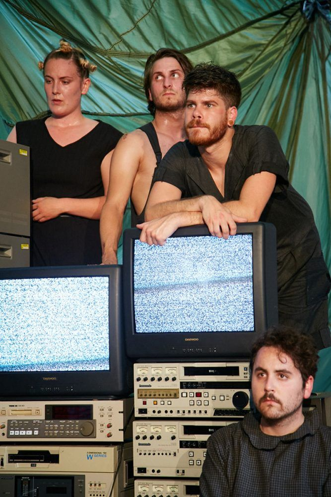 Ich bin das Tier. Cammerspiele Leipzig. Foto: Camilo Osorio Suarez