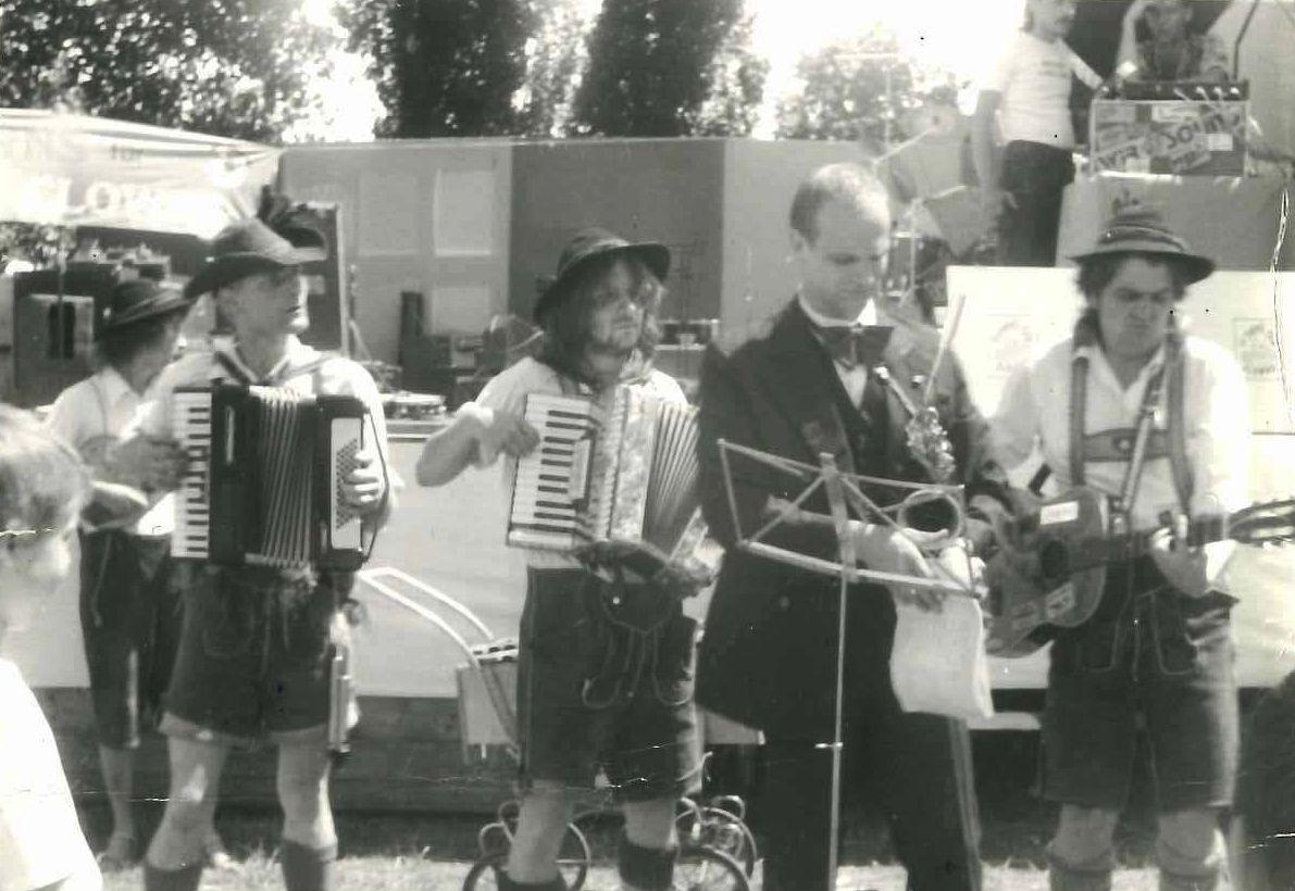 Saxophon un Stepptanz: Die Börde Brothers