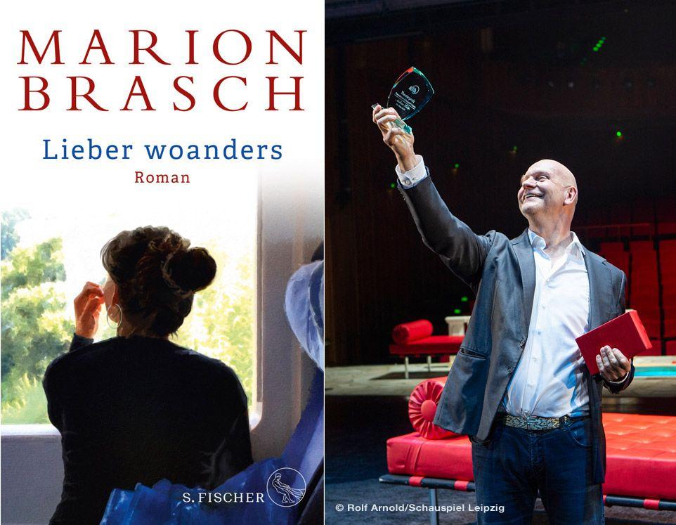 Lesung Marion Brasch mit Andreas Keller © S. Fischer Verlag/Rolf Arnold