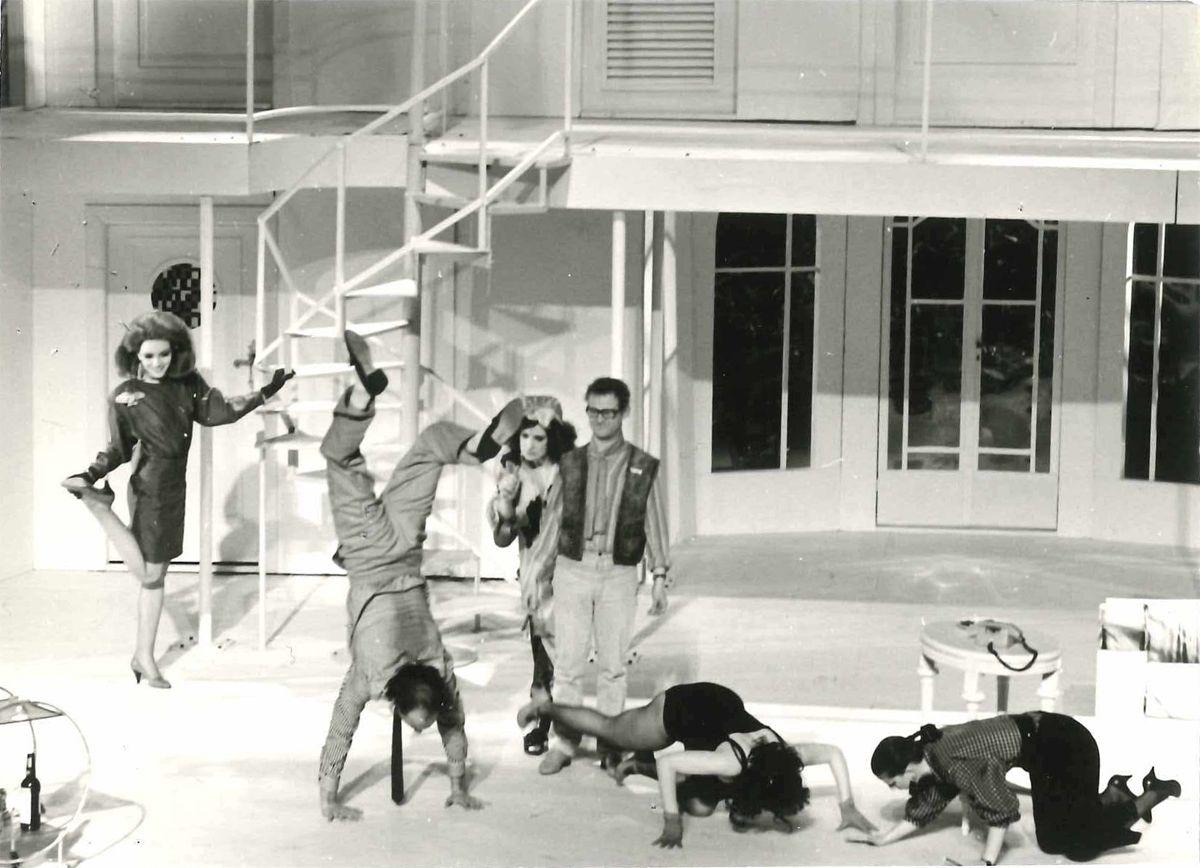 Der nackte Wahnsinn am Theater Magdeburg, 1987