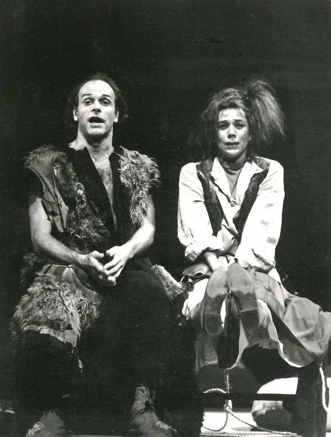 """In """"Die Schneekönigin"""" am Theater Magdeburg, 1987"""