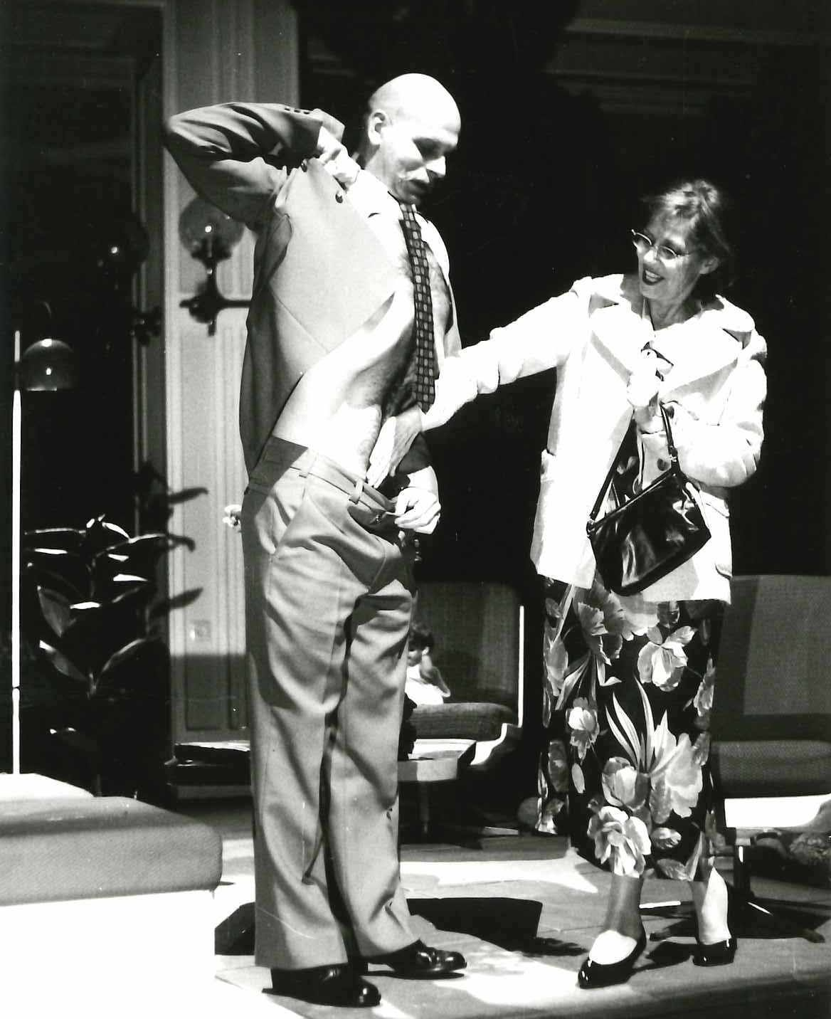 Andreas Keller mit Ellen Hellwig, Leipzig
