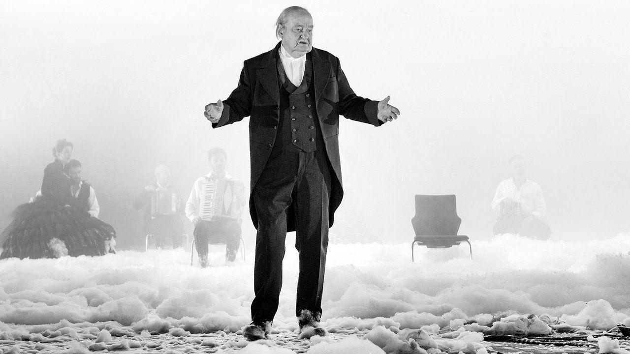 Nun sind wir genug gefahren - Dieter Jaßlauk als alter Peer Gynt © Rolf Arnold