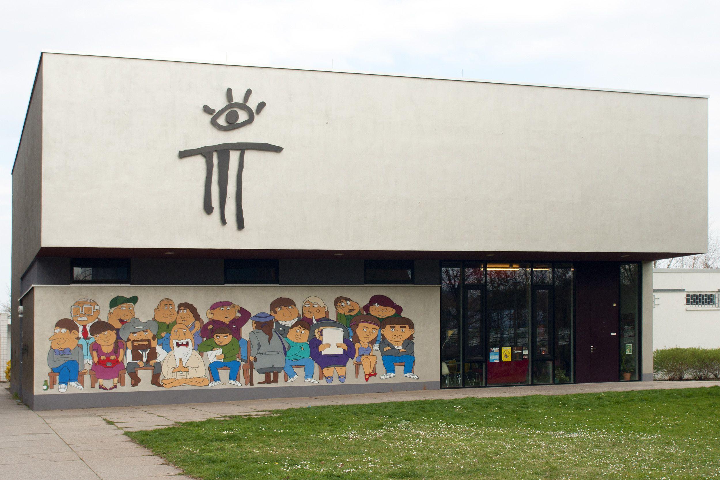 Das Theatrium in Leipzig-Grünau.